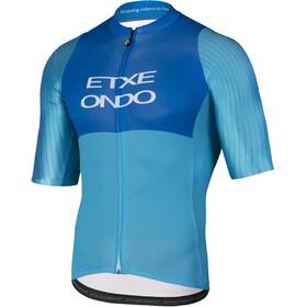 Etxeondo On Aero Fietsshirt korte mouwen Heren blauw/turquoise